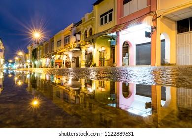 Phuket town , Phuket city 2018