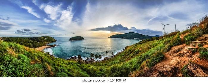 Phuket viewpoint andaman sea, Thailand