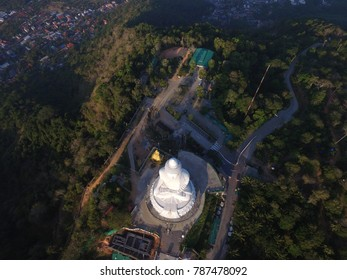 Phuket,Thailand - CIRCA March 2016 birdseye Aerial of big buddha