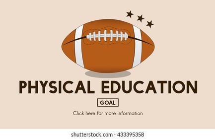 Physical Education Activity Cheerful Exercising Concept