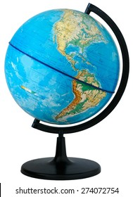 Globe equator images stock photos vectors shutterstock physical map of the world globe photo taken during the day when natural light gumiabroncs Images