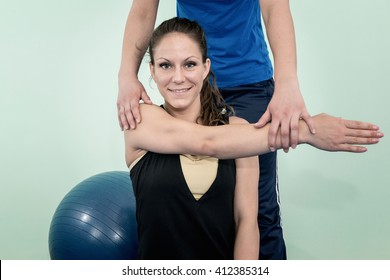 Physical therapy: improving shoulder flexion