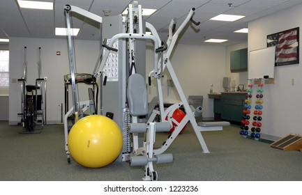 Physical therapy office equipment