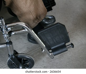 physically challenged senior