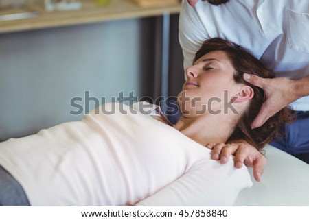 Woman gives head