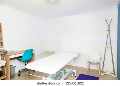 Physiotherapy clinic interior