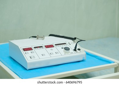 physiotherapy machine close up