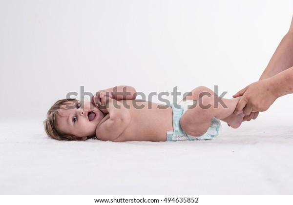 Physiotherapie und Osteopathie bei Säuglingen.
