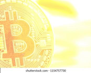Physische Bitcoin Münze