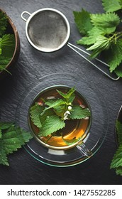 Phytotherapy nettle infusion, natural medicine