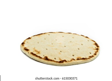 Piadina. Browse of wheat flour, traditional Italian product.