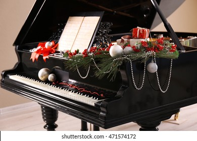Christmas Piano.Christmas Piano Images Stock Photos Vectors Shutterstock