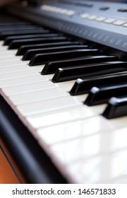 piano close-up.