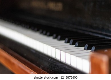 Piano in danish home
