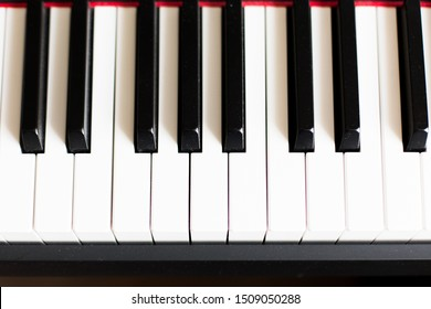 piano or electronic synthesizer (piano keyboard) background