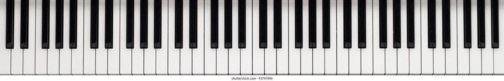 Piano keyboard background