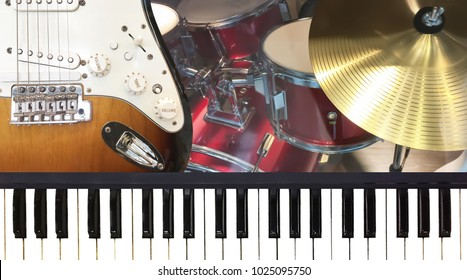 keyboard guitar images stock photos vectors shutterstock. Black Bedroom Furniture Sets. Home Design Ideas