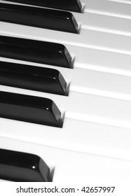 piano - keyboard keys