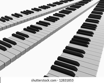 piano lines