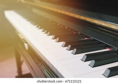 Piano music classic, symphony