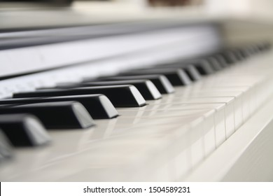 Piano is on the corner