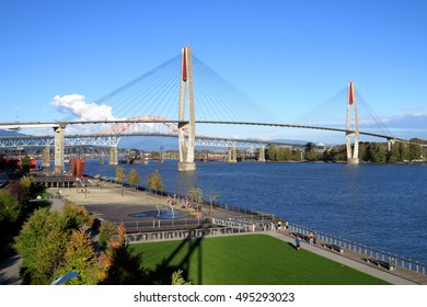 Piar Park in New Westminster is lovely walk place eat and kids can play safe environment
