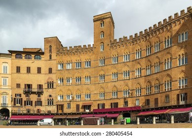 Piazza del Campo is the principal public space of the historic center of Siena, Tuscany, Italy and is regarded as one of Europe's greatest medieval squares.