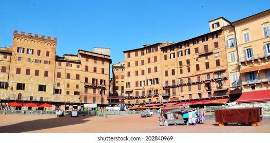 piazza del campo Siena, Tuscany, Italy