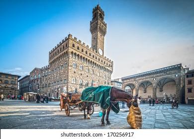 piazza della signoria - florence - tuscany - italy