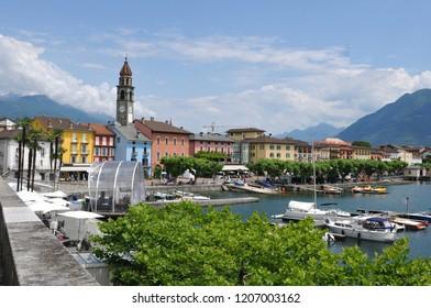 The Piazza Grande in Ascona next to Locarno City, where the film festival takes placeThe Piazza Grande in Ascona next to Locarno City, where the film festival takes place