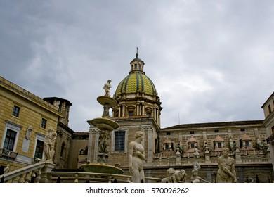 Piazza Pretoria, or shame, Palermo - Sicily