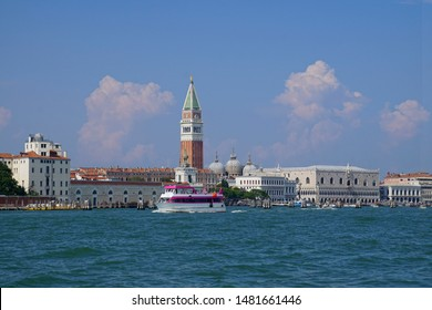 Piazza San Marco and Doge's Palace on the Grand Canal in Venice, Italy