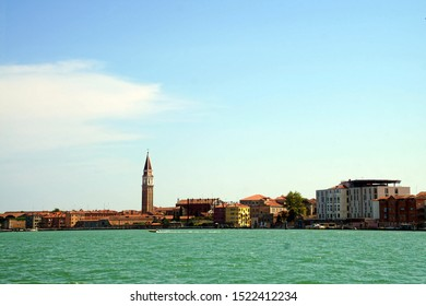 Piazza San Marco and the Doge's Palace on the Grand Canal of Venice, Italy