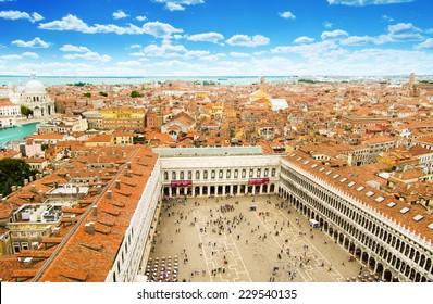 Piazza San Marko in Venice, Italy