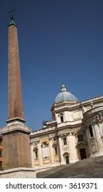 Piazza Santa Maria Maggiore, Rome, Italy