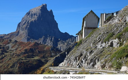 Pic du Midi d'Ossau in the French Pyrenees