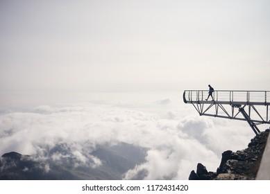 Pic du Midi Observatory pontoon