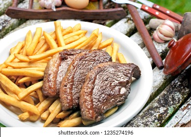 Picanha with fries