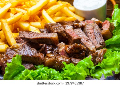 Picanha with fries potato