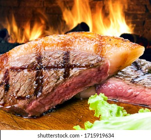 Picanha, traditional Brazilian beef cut BBQ