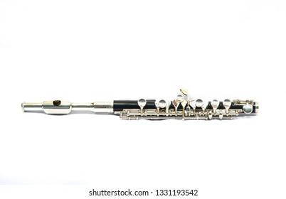 piccolo on white background