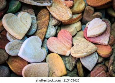pick sandstone carving in Heart shape