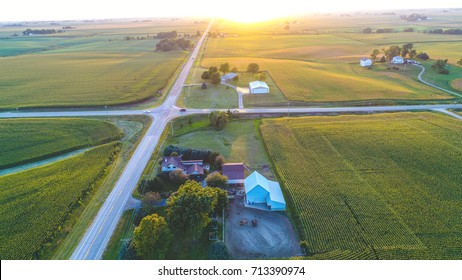 Pick from a variety of breath taking views capture by a drone. Aerial photos are taken from a variety of places and themes. Enjoy the aerial views! Location: Midwest Rural  Davenport Iowa.