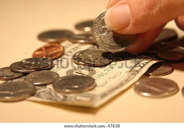 picking up a quarter