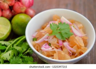 Pickle turnip salad
