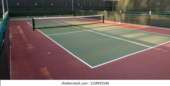 Pickleball Court in Southern California Park