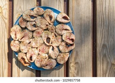 The pickled mackerel