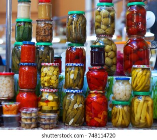 Pickled salted vegetables, conservation