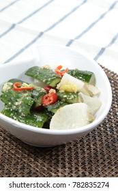 pickled vegetable cuisine