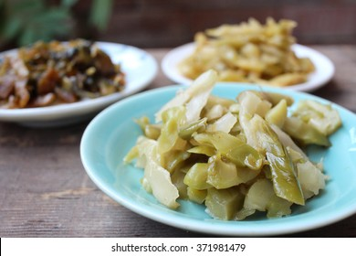 Pickled vegetables chinese food